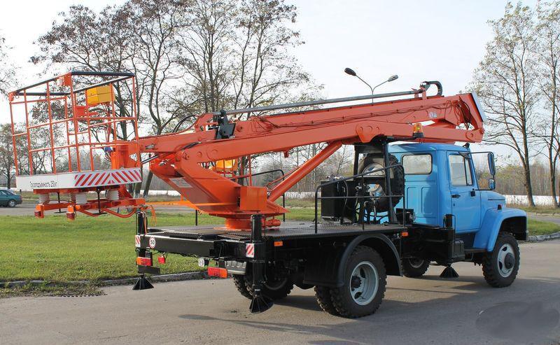 Автовышка 22 м телескопическая