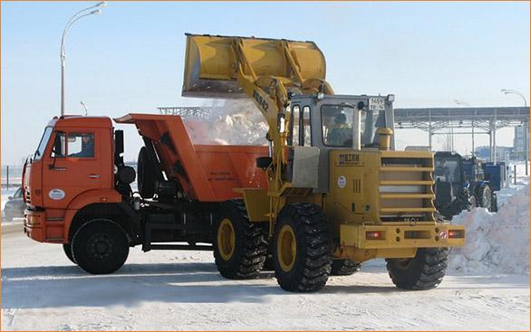 Уборка и вывоз снега во Владимире