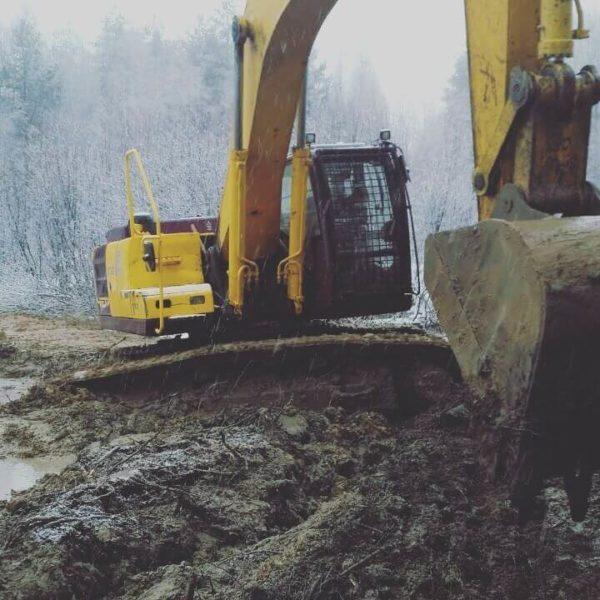 Аренда экскаватора гусеничного ЧЕТРА ЭГП 230, ковш 1.2м3